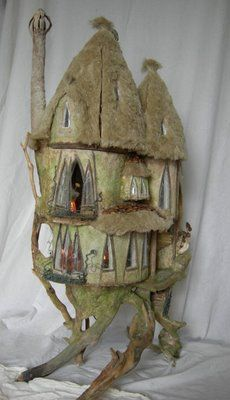 stunning tree house bypenny thomsonmaker of magical miniatures