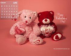 HD Valentine Calendar Wallpaper February iew HD Image of