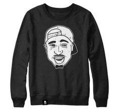 Bad Blood Clothing | Tupac Sweatshirt