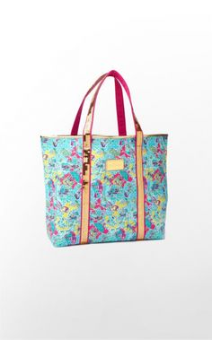 Lilly Pulitzer Sparkle Tote In The Beginning Bags Pultizer Passion