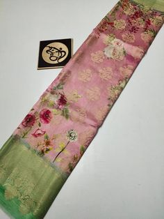 Floral Blouse, Floral Tie, Floral Crib Sheet, Bollywood Fashion, Bollywood Style, Mark Price, Saree Wedding, Sarees Online, Indian Outfits