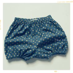 The Bubble Shorts Girls Baby Bloomers | Downloadable PDF Pattern – Fleur + Dot FleurandDot.com
