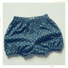 The Bubble Shorts Girls Baby Bloomers | Downloadable PDF Pattern – Fleur + Dot FleurandDot.com