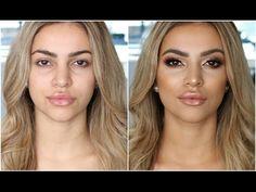 Bronzed Babe! Client Makeup Tutorial | Anastasia Modern Renaissance Palette - YouTube