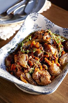 Beesstert in rooiwyn | SARIE | Oxtail in redwine