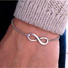Infinity Always Bracelet //Price: $10.49 & FREE Shipping // #HarryPotter #Potter #HarryPotterForever #PotterHead #jkrowling #hogwarts #hagrid #gryffindor