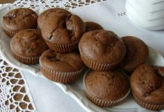 Hungarian Recipes, Nutella, Muffins, Food And Drink, Snacks, Cookies, Chocolate, Breakfast, Cake