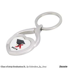Class of 2019 Graduation Day Keychain by Janz - college graduation gift idea cyo custom customize personalize special College Graduation Gifts, Class Of 2019, Dog Bowtie, Gifts For Family, Birthday Celebration, Silver Color, Are You The One, Metal, Shop Class