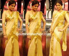 Priyamani in Kerala Traditional Half Saree ~ Celebrity Sarees, Designer Sarees, Bridal Sarees, Latest Blouse Designs 2014