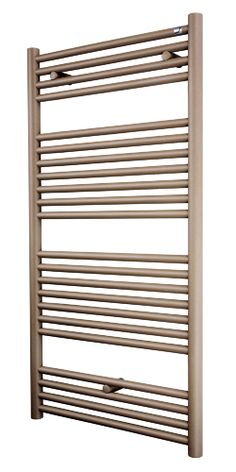 The Etna towel radiator is available in three stunning textured finishes designed to complement limestone and travertine tiles such as Beige Quartz as pictured; Etna Towel Rail is rocking the world of bathroom radiators. Warm Bathroom, Loft Bathroom, Bathrooms, Bathroom Heater, Bathroom Radiators, Traditional Towel Radiator, Stainless Steel Towel Rail, Mirror Radiator, Towel Heater