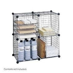 Safco Model Wire Cubes, Black (5279) $34.29