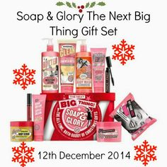 Soap & Glory The Next Big Thing: Christmas Gift Set 2014