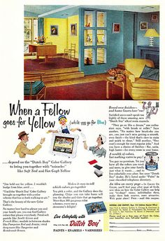 """When a Fellow Goes for Yellow"" 1953"