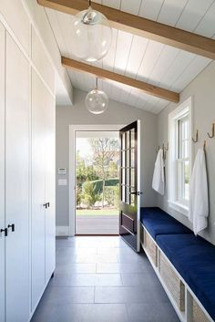 Good size mud room