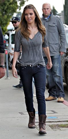 Audrina Patridge stepped out in West Hollywood on Wednesday (February 23).