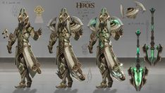ArtStation - THE AGE OF HEROES, weichi chen