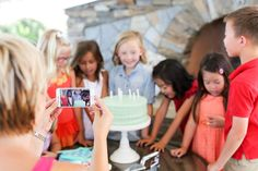 How to Take the Best Kid's Birthday Party Videos from @evite and #RealTimesApp #MyRealTimes