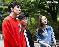 Song Ji Hyo, Kang Gary and Lee Kwang Soo, Running Man ep. 315. © SBSNOW Running Man Korean, Ji Hyo Running Man, Running Man Members, Monday Couple, Kwang Soo, Family Outing, Korean Star, Korean Actors, Kdrama