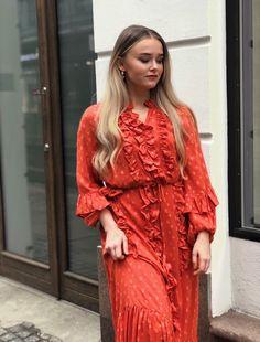 Munthe Dress - AMY SS19 My Wardrobe, Amy, Dresses With Sleeves, Long Sleeve, Fashion, Scale Model, Moda, Sleeve Dresses, Long Dress Patterns