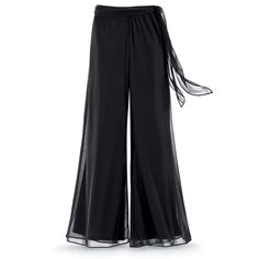 Black Chiffon Palazzo Pants - New Age, Spiritual Gifts, Yoga, Wicca, Gothic, Reiki, Celtic, Crystal, Tarot at Pyramid Collection   I want these!