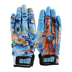 Neff Snowboarding Gloves Chameleon Babe