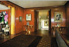 Nelson Rockefeller Fifth Avenue Residence - entrance gallery