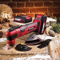 Einhell 18v Cordless Multi-tool With 2 X 2.0ah Li-ion Batt - power tools - multi tools - 18v Cordless Multi-tool With 2 X 2.0ah Li-ion Batt - Timber, Tool and Hardware Merchants established in 1933