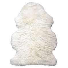 Upstairs bathroom in front of bathtub: Sheepskin rug in natural. Product: RugConstruction Material: SheepskinColor: NaturalDimen...