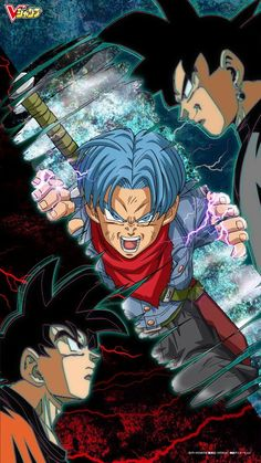 Saga de @Trunks del Futuro Son Goku vs Black Dragon Ball Super