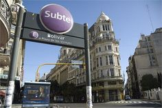 Buenos Aires Subte station entrance - You Need Style - Flickr 2008
