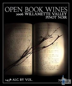 Open Book Wines. United States >> Oregon >> Willamette Valley