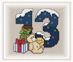 Advent Calendar - Motif 13