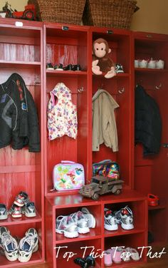 lockers and cubbies from Orvis
