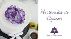 Cómo hacer  Hortensias de Azúcar