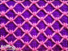 multi-colour-patterns | Knitting Stitch Patterns