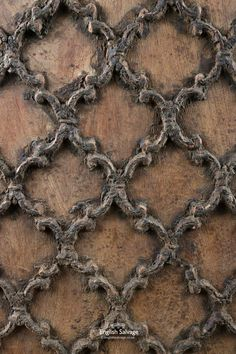 Reclaimed teak ceiling panel with raised ornate carving throughout. Partition Screen, Wood Garage Doors, Southern Gothic, Ceiling Panels, Wood Ceilings, Stair Railing, Decorating Blogs, Game Art, Animal Print Rug