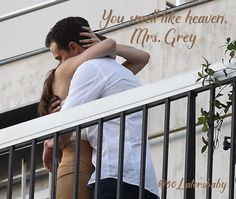 You smell like heaven, Mrs. Grey #FiftyShadesFreed #FSF