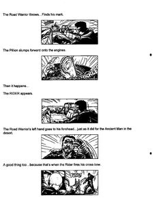 Post with 13 votes and 3725 views. Shared by Mad Max Fury Road - Original Script / Storyboard excerpts The Road Warriors, Mad Max Fury Road, Storyboard, Script, Comic, Album, Shit Happens, The Originals, Script Typeface