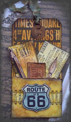 Creative Paper Arts at Everything Scrapbook & Stamps: This weeks Tim Holtz Inspired Tag