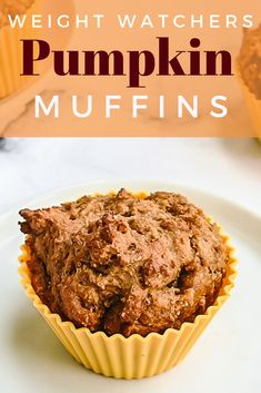 Weight Watchers Pumpkin Muffins Are Perfect For Breakfast Or A Snack Only 4 Smar. Weight Watchers Pumpkin Muffins Are Perfect For Breakfast Or A Snack Only 4 Smartpoints And Only 93 Ww Recipes, Fall Recipes, Baking Recipes, Dessert Recipes, Healthy Recipes, Ketogenic Recipes, Healthy Kids, Recipes Dinner, Healthy Desserts