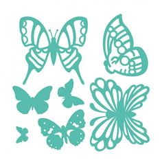 Troquel Mariposas First Edition para Sizzix