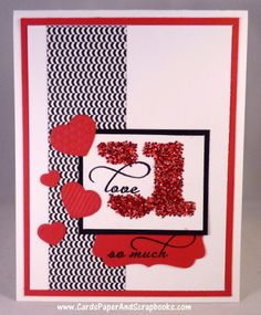 Card by DJ using You and I from Verve. #vervestamps