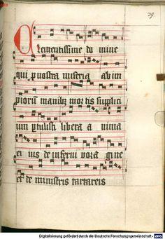 Rituale für Dominikanerinnen Nürnberg oder Altenhohenau, 2. Hälfte 15. Jh. Cgm 5243  Folio 39r