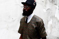 Streetsnaps: Paris Fashion Week 2013 AfricanAfrica