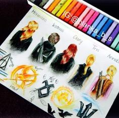 Harmonie ( Harry Potter ) , Katniss ( The Hunger Games ) , Clary ( The Mortal Instrument ) , Triss ( Dıvergent Series ) , Annabeth ( Percy Jackson )