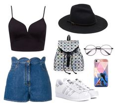 """Friday night"" by lorenarusu on Polyvore featuring Valentino, adidas Originals and Casetify"
