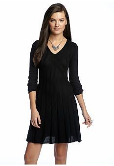Sophie Max Ribbed Sweater Dress