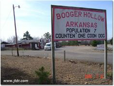 Booger Hollow, Arkansas, I've been there a couple of times, a cute place to stop and take photos.