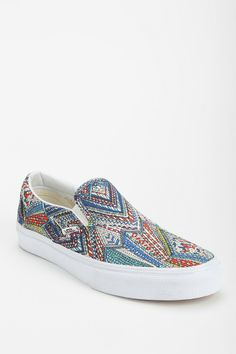 248ddb6b18 Vans Abstract Geo Women s Slip-On Sneaker Wanted these pero they didn t  have them in my size.