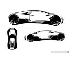Geometric Adaptation - The Commissary Exterior Rendering, Exterior Design, Drafting Drawing, Industrial Design Sketch, Volkswagen, Car Design Sketch, Interior Sketch, Hand Sketch, Car Drawings